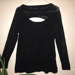 Torrid Black long sleeve sweatshirt size 1